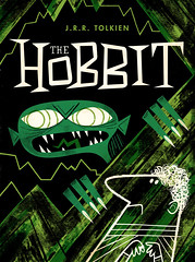 The Hobbit (Limited Colour) (kolbisneat) Tags: the hobbit jrrtolkien limitedpalette limitedcolour bookcover illustration kolbisneat andrewkolb