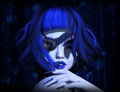 I-Girl (Anna_Angelica) Tags: atomic az catwa cyber darkpassions epiphany goth koffinnails lilly maitreya shinystuffs tdcf thedarknesschamberfair tram yasum