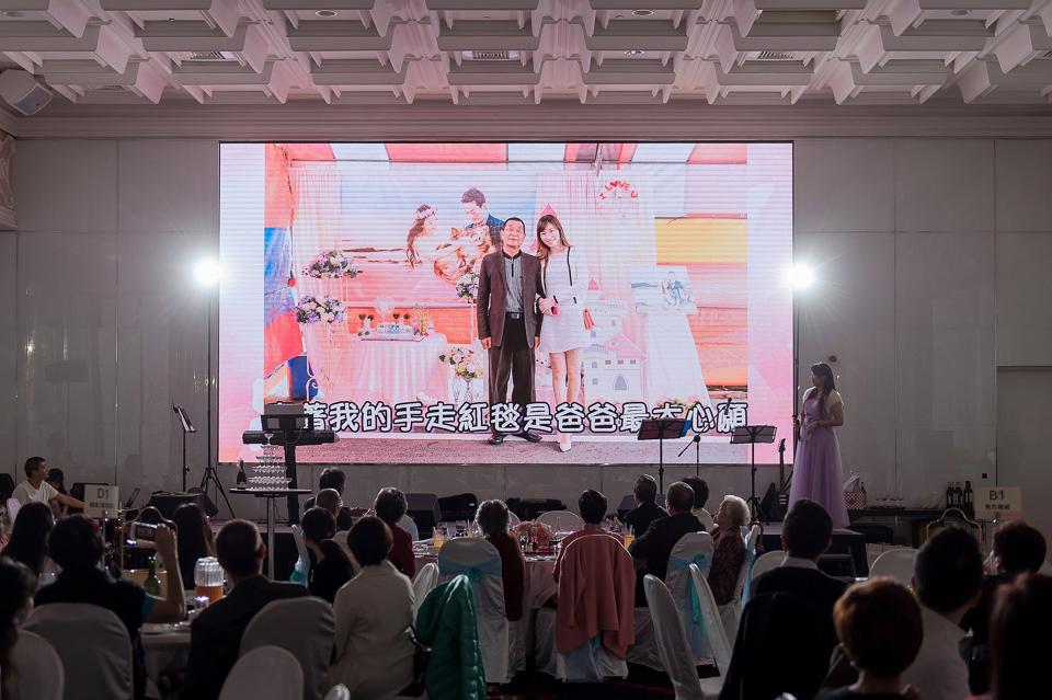 婚攝 高雄林皇宮 婚宴 時尚氣質新娘現身 S & R 114