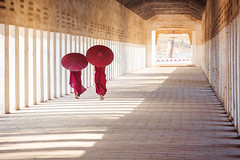 Myanmar novice walking with red umbrella (anekphoto) Tags: myanmar burma buddhism red buddhist bagan people novice buddha temple monk culture little asia monastery person traditional kid religion tradition religious children robe southeast burmese asian monks small prayer boys umbrella young portrait man morning belief alms old tourism hallway faith pagoda walking group worship collect white green mandalay summer