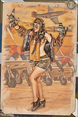 Pinups - Dogfighting Dame (Dietz Dolls Pinup Photography) Tags: 1940s aaf air airfield airplane army aviation base dogfight fighter force forties fw190 german military mustang nazi p51 pilot pinup retro vintage ww2 airforce fighterpilot p51mustang pinuppinup armyairforce retrovintage germannazi pinupretro militaryarmy