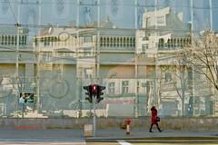 Reflections in a city (Belgrade, Serbia)