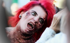 Zombie walk 2017 (vinnie saxon) Tags: nikon nikoniste event horror scary portrait people zombie