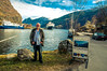 Flam (Tony Shertila) Tags: cruise europe pig norway flam fjord sea water mountains valley me cruiseship sky clouds outdoor person portrait flåm sognogfjordane nor
