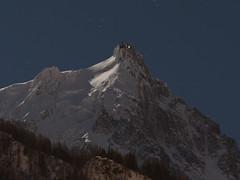 moonlit Aiguille Du Midi (noveli77) Tags: aiguilledumidi mountain alps olympusomdem1markii olympus40150mmf28pro