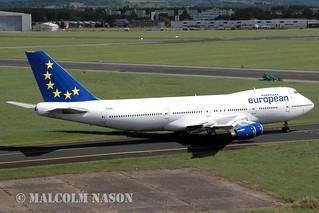 BOEING 747-236B G-BDXG EUROPEAN AIRCHARTER