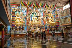 NAMDROLING BUDDHIST MONASTERY, BYLAKUPPE, MYSORE (GOPAN G. NAIR [ GOPS Creativ ]) Tags: gopsorg gopangnair gopsphotography gopan photography namdroling buddhist monastery bylakuppe mysore