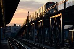 Colorful Express (CrispyBassist) Tags: railroad railway train track transit subway queens flushingline irt sunset nyc nyct nycta newyorkcity newyork newyorkcitysubway newyorkcitytransit