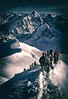 chamonix (Cath'art Photography) Tags: chamonix montblanc montagne mountain mountains ice climbing climber photo photography photographie blanc hiver winter monte blanco top summit
