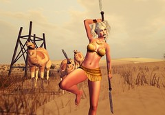 Out in the jungle (Isabelle Cheren) Tags: virtualreality secondlife devin catwa exile entice