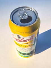 Summer Shandy (crashmattb) Tags: iphoneography iphone7plus naturallight apple beer leinenkugel summershandy september 2017 summer ballpark shadow sunlight can beercan beverage weiss microbrew