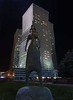 Astana statue (mattleof) Tags: sony rx100 m4 mattfredrickson fredrickson city photo photos photography light orange orangecounty california ca photographer mattleof astana kazakhstan statues stphotographia