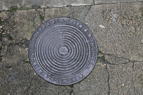 Coal Hole Cover (T. Knox, Iron Founder, Engineer, Ramsgate)