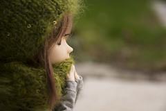 Cold and green (Erla Morgan) Tags: doll pullip pullipsouseiseki souseiseki souki erlamorgan groove junplanning wig obitsu green cold bokeh bordeaux