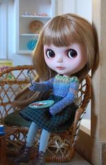 Arya (Emily1957) Tags: blythe ebl bohemianbeatsagain ericafustero custom dolls doll toys toy breakfast light naturallight nikond40 nikon kitlens liccabody 2012