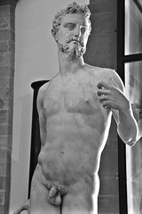 Adam (just.Luc) Tags: adam bn nb zw monochroom monotone monochrome bw sculpture escultura statue estatua statua beeld beeldhouwwerk man male homme hombre uomo mann nu nude nudo desnudo naakt nackt naked nipples tepels penis pene beard barbe barba baard bart marble marmer marmo marmor marbre bargellomuseum bargello museum museo musée italia italy italien italie italië firenze florence florencia florenz tuscany toscane toskana toscana europa europe art kunst public publiek