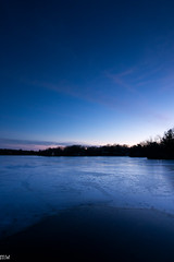 Freeman Lake (MikeWeinhold) Tags: freemanlake northchelmsford chelmsford massachusetts 6d 1740mm gdfilter leefilters ice lake sunset