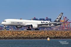 F-WLXV Airbus A35K 34L YSSY-4922 (A u s s i e P o m m) Tags: airbus a35k a3501000 syd yssy sydneyairport aib359 a350xwbtour mascot newsouthwales australia au