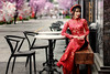Ao Dai 2018 (Tommy K Le) Tags: ao dai vietnam saigon girl dress long red colorful beauty beautiful pretty ho chi minh city fashion fujifilmxt1
