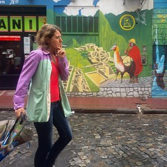 Street of Buenos Aires, Argentina (Monica@Boston) Tags: ngc outdoors people capitalofargentina buenosaires street