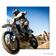 Cross Country 3D (dmelchordiaz) Tags: cross motor cycle helmet country madrid spain sky jump pilot gas 3d canon 1740 track path