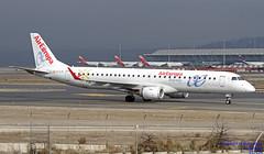 EC-LIN LEMD 10-01-2018 (Burmarrad (Mark) Camenzuli Thank you for the 10.3) Tags: airline air europa aircraft embraer 190200lr registration eclin cn 19000401 lemd 10012018