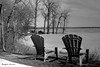 En attendant le printemps... (argentique) / Waiting for spring... (Film) (Pentax_clic) Tags: fed2 hp5 d76 11 mars 2016 printemps spring robert warren vaudreuil quebec chaise arbre