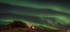 Aurora & Lofotr Vikingmuseum (sindreturoy) Tags: lofoten aurora nordlys travel norway borg viking museum beautiful nightshot photography hdr canon eos 700d t5i