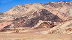 Death Valley National Park California.  Salt Flats (Feridun F. Alkaya) Tags: deathvalleynationalpark nps ngc california coyote usa nationalpark zabriskiepoint sanddunes jackal desert dvnp mesquiteflatdunes dunes sand deathvalley saltflats salt