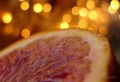 *°*°* (MargoLuc) Tags: macromondays theme citrus orange tarocco red sweet golden bokeh macro reflections fruit italy sicily