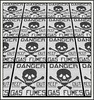 Famous rule (Bob R.L. Evans) Tags: danger repetition rhythm keeptosign unusual symbol skullandcrossbones composition graytones blackandwhite dada