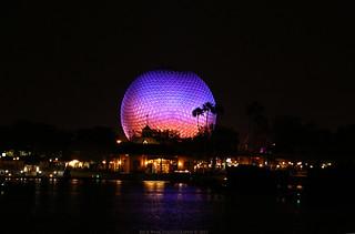 Spaceship Earth & World Showcase Lagoon