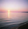 Sunset on Baikal (RDAYZ) Tags: film filmisnotdead filmnotdead fuji fujifilm provia rdpiii iso100 slide positive medium mediumformat format mf 6x6 2017 rolleiflex tseries tessar tlr fujichrome nature travel wild russia east rdayz baikal lake sunset road trip roadtrip uaz