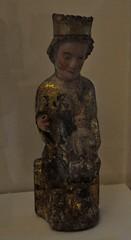 Astorga (León). Museo de los Caminos.Virgen sedente con Niño, siglo XIII. Procede de Villajeriz en Zamora (santi abella) Tags: astorga león castillayleón españa museodeloscaminos palacioepiscopaldeastorga