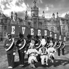 Everbleak marching band photo-call, 1962 (Flamenco Sun) Tags: institute everbleak hospital mental marching asylum band