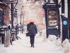 la ville est western (photosgabrielle) Tags: photosgabrielle streetphotography people winter hiver neige snow urban urbain montreal mileend