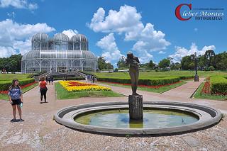 Estátua Jardim Botânico - Curitiba - PR - Brasil