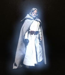 Master Luke Skywalker jedi spirit. (chevy2who) Tags: spirit ghost last master jedi toyphotography toy series black skywalker luke starwars