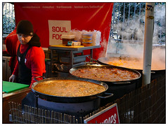 Soul Food (donbyatt) Tags: london southbank thames mku3a outing food steaming boroughmarket candid people