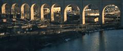 High Bridge 11 (stevensiegel260) Tags: highbridge newyork thebronx bridge arch acqueduct twilight