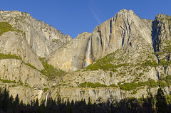Morning Rainbow II (rschnaible (Not posting but enjoying your posts)) Tags: yosemite national park california sierra nevada mountains rugged outdoor hike rainbow falls landscape