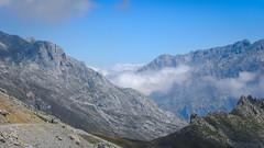 Space in the Picos de Europa (RIch-ART In PIXELS) Tags: picosdeeuropa españa fuentedé landscape mountains cloud sky rockformation cantabria spain leicadlux6 leica dlux6 mountainridge mountain mountainside