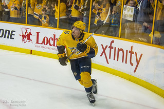 #22 - Kevin Fiala - Nashville Predators Left Winger