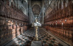 Peterborough Cathedral 2018 - 3 (Darwinsgift) Tags: peterborough cathedral interior nikon d850 hdr photomatix architecture venus optics laowa 12mm zero d distortion church photography