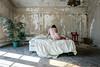 Still Singing in Your Ear (sadandbeautiful (Sarah)) Tags: me woman female self selfportrait abandoned bedroom mansion
