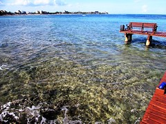 Half Moon Bay (thomasgorman1) Tags: canon pier view resorts scenic snorkeling reef akumal mexico seascape nature