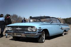 Chevrolet Impala Sport Coupé 1960 (Miguel Angel Prieto Ciudad) Tags: chevrolet car classic coche cars classiccar auto automobile automotive automocion automovil sportcar usa mirrorless motor motorshow blue sony sonyalpha sonyalphadslr