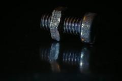 Macro Mondays fastener (rondoudou87) Tags: macromondays fastener macro pentax k1 close closer dof reflection reflexion metal shadow ombre
