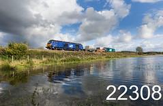 robfrance5d2_22308_130917_x68026_x68033_blackdykes_arnside_6c52_drs_edr16lr6pse15weblowres (RF_1) Tags: 2017 68 68026 68033 arnside blackdykes britain caterpillar caterpillarc17516 class68 cumbria cumbrian cumbriancoast cumbriancoastline diesel directrailservices drs england flask flasks flood flooding freight haulage hauling hazardous irradiated loco locomotive locomotives nuclear nucleardecommissioningauthority rail railfreight rails railway railways reflected reflecting reflection reflections rural stadler train trains transport uk unitedkingdom vossloh waste westmorland