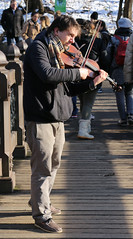 fiddler (midatlantica) Tags: newwork nyc centralpark manhattan winter urban city people